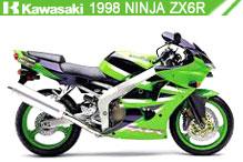 1998 Kawasaki Ninja ZX-6R zubehör