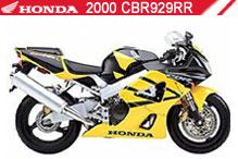 2000 Honda 929 zubehör