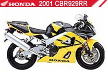 2001 Honda CBR929RR zubehör