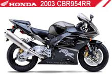 2003 Honda CBR954RR zubehör