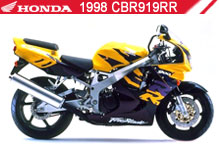 1998 Honda CBR919RR zubehör