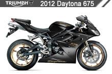 2012 Triumph Daytona 675 zubehör
