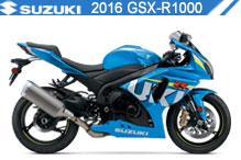 2016 Suzuki GSXR1000 zubehör