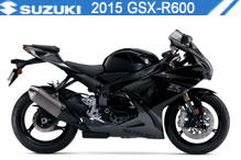 2015 Suzuki GSXR600 zubehör