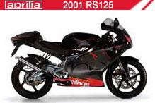 2001 Aprilia RS125 zubehör