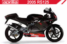 2005 Aprilia RS125 zubehör