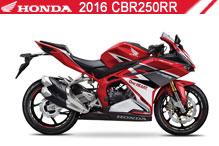 2016 Honda 250RR zubehör