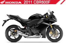 2011 Honda CBR600F zubehör