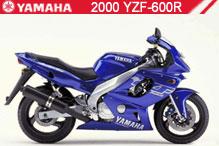 2000 Yamaha YZF600R zubehör