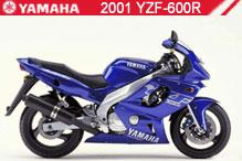 2001 Yamaha YZF600R zubehör