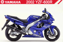 2002 Yamaha YZF600R zubehör