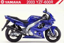 2003 Yamaha YZF600R zubehör