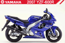 2007 Yamaha YZF600R zubehör