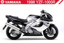 1998 Yamaha YZF1000R zubehör