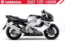 2007 Yamaha YZF1000R zubehör