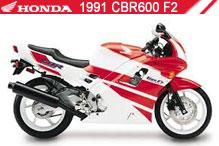 1991 Honda CBR600F2 zubehör