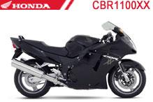 CBR1100XX Verkleidungen