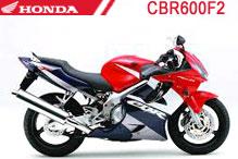 CBR600F2 (PC25) Verkleidungen