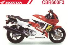 CBR600F3 (PC31) Verkleidungen