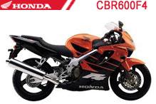 CBR600F4 (PC35) Verkleidungen