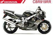 CBR919RR (SC33) Verkleidungen
