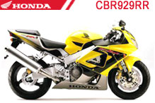 CBR929RR (SC44) Verkleidungen