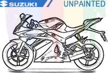 Suzuki Unlackiert Verkleidung