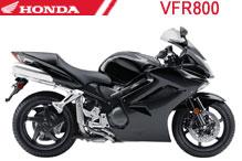 VFR800 Verkleidungen