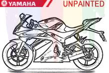 Yamaha Unlackiert Verkleidung