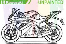 Kawasaki Unlackiert Verkleidung