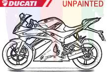 Ducati Unlackiert Verkleidung