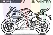 Triumph Unlackiert Verkleidung