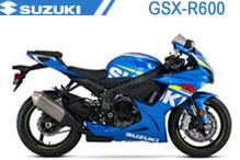 GSXR600 Verkleidungen
