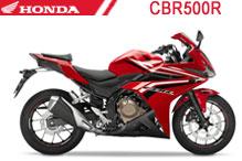 CBR500R Verkleidungen