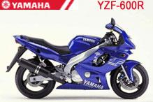 YZF600R Verkleidungen